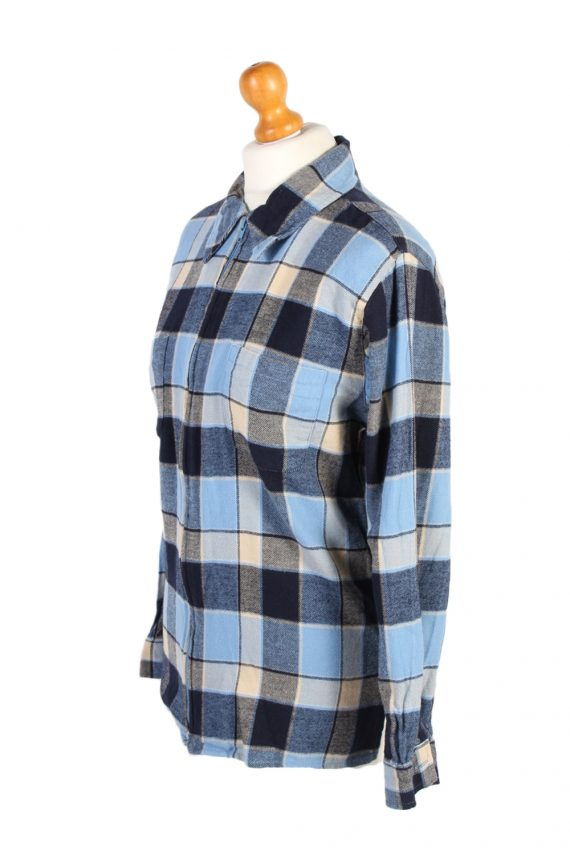 Vintage Flannel Shirt Gina Benotti Printed Corduroy M Multi SH3541-100583