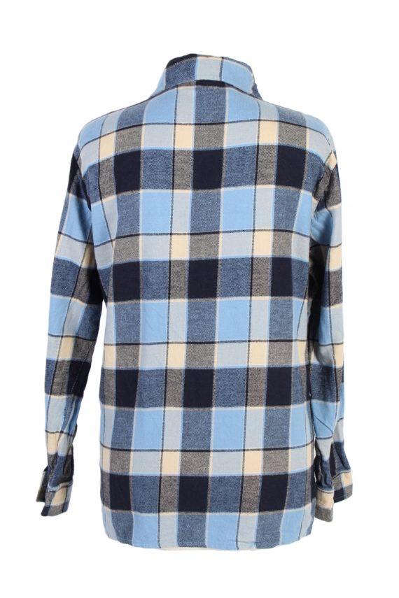 Vintage Flannel Shirt Gina Benotti Printed Corduroy M Multi SH3541-100584