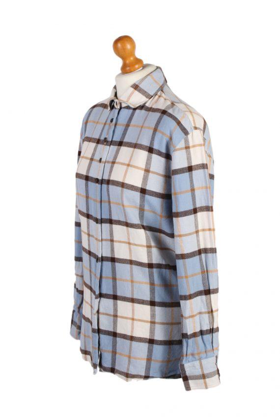 Vintage Flannel Shirt Verse Printed Corduroy M Multi SH3542-100587