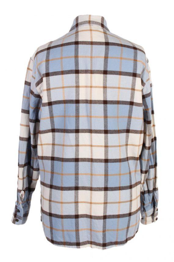 Vintage Flannel Shirt Verse Printed Corduroy M Multi SH3542-100588
