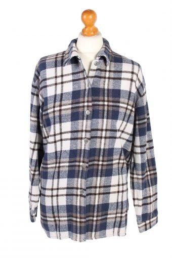 Flannel Checkshirt 90s Retro Women Multi M