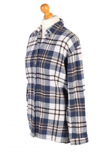 Vintage Flannel Shirt Vanic Printed Corduroy M Multi SH3544-100595