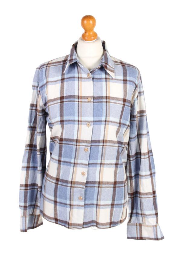 Vintage Flannel Shirt My War Fer Printed Corduroy L Multi SH3546-0