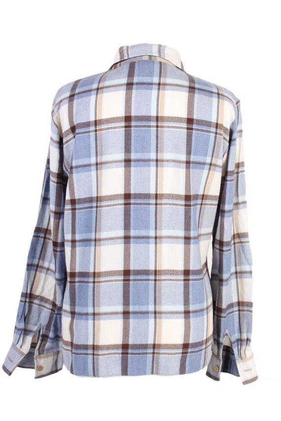 Vintage Flannel Shirt My War Fer Printed Corduroy L Multi SH3546-100604