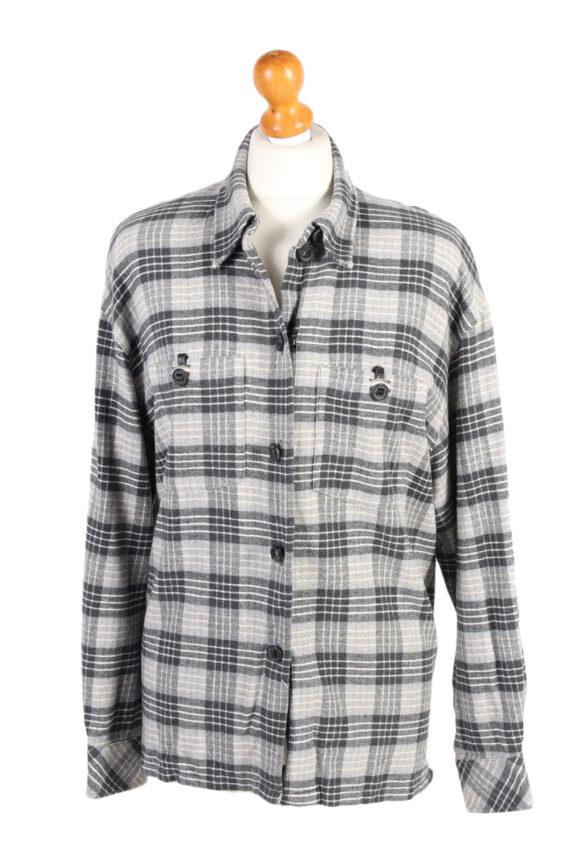 Vintage Flannel Shirt Tru Printed Corduroy L Multi SH3553-0