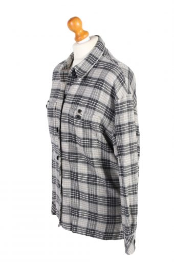 Vintage Flannel Shirt Tru Printed Corduroy L Multi SH3553-100631