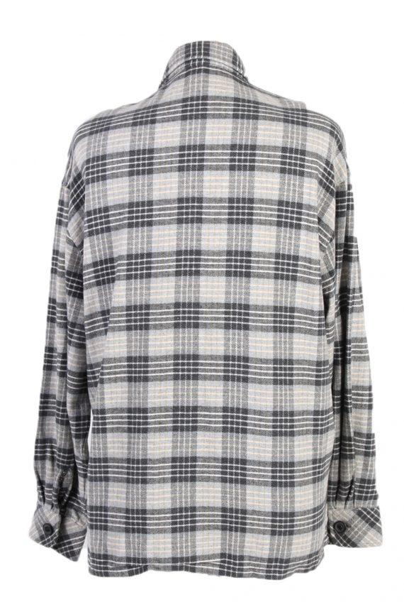 Vintage Flannel Shirt Tru Printed Corduroy L Multi SH3553-100632