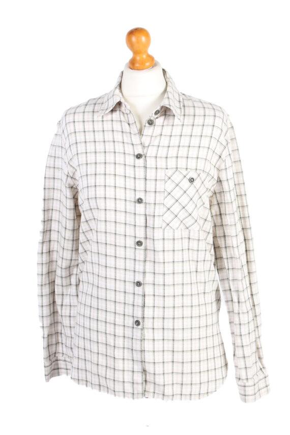 Vintage Flannel Shirt Belle Surprise Printed Corduroy L Multi SH3558-0