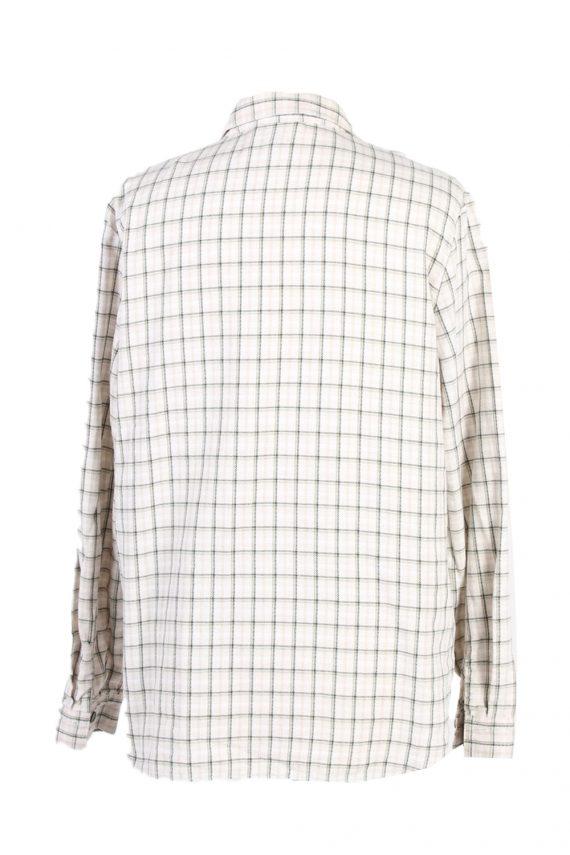 Vintage Flannel Shirt Belle Surprise Printed Corduroy L Multi SH3558-100652