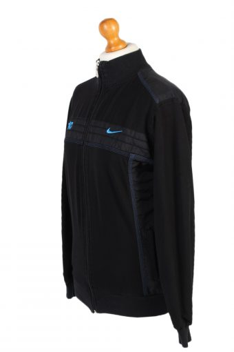 Vintage Nike Tracksuits Top T90 Sportswear XXL Black -SW2108-100495