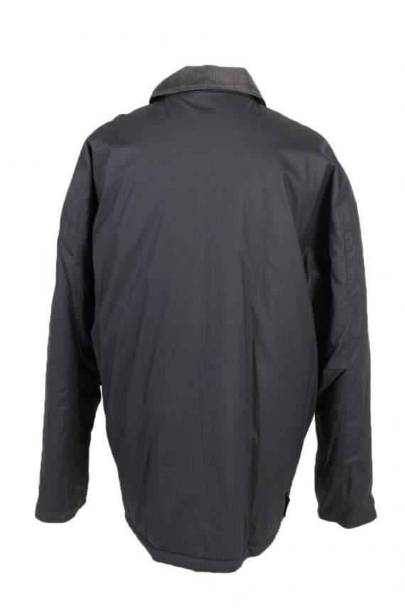 Vintage Waterproof Raincoat Casual Wisent XXL Navy -C1263-100984
