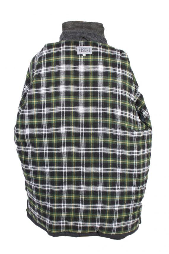 Vintage Waterproof Raincoat Casual Wisent XXL Navy -C1263-100985