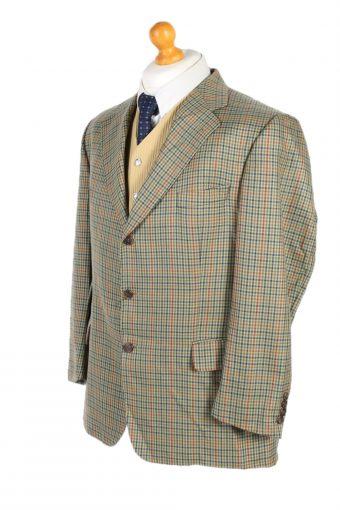 Vintage Burberry's Anson's Window Pane Blazer Jacket Chest 45 Multi HT2504-101185