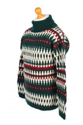 90s Jumper Vintage Winter Sweater M Multi -IL1553-100793