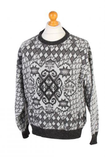 90s Jumper Sweater Pullover Multi L