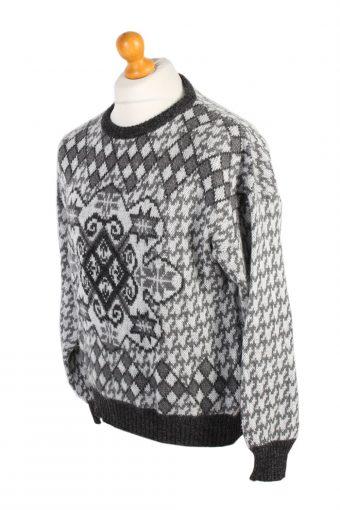 Vintage 90s Jumper Sweater Pullover L Multi -IL1575-100881