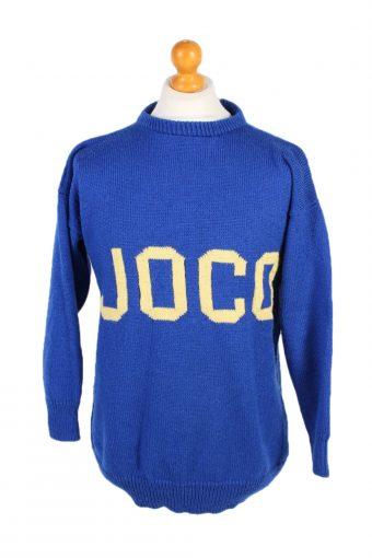 90s Jumper Joco Pullover Blue M