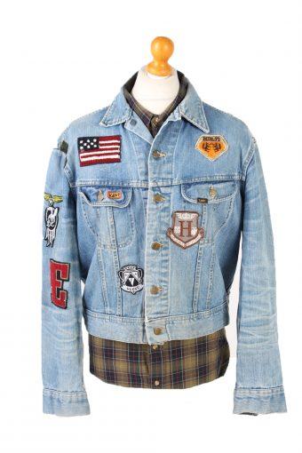 Vintage Lee Denim Jacket USA Printed l Blue -DJ1477-101789