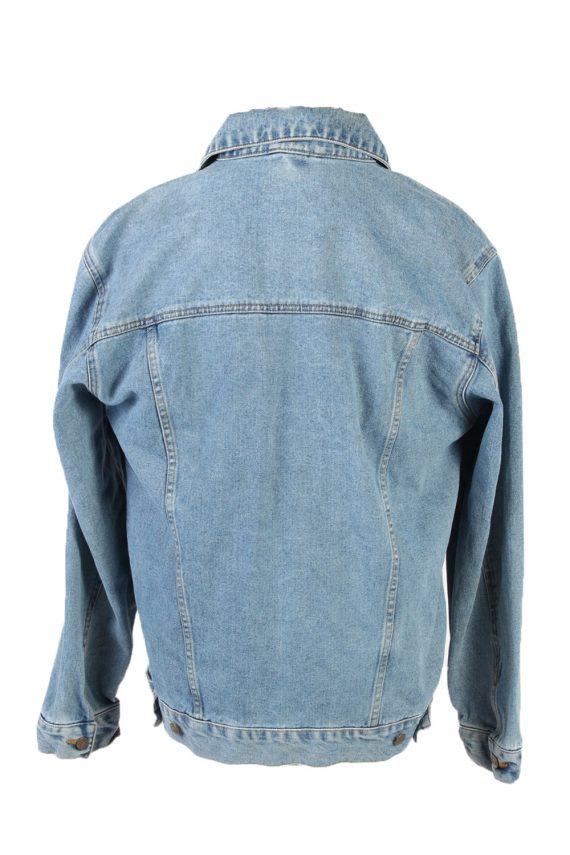 Vintage Lee Denim Jacket USA Printed L Blue -DJ1479-101798