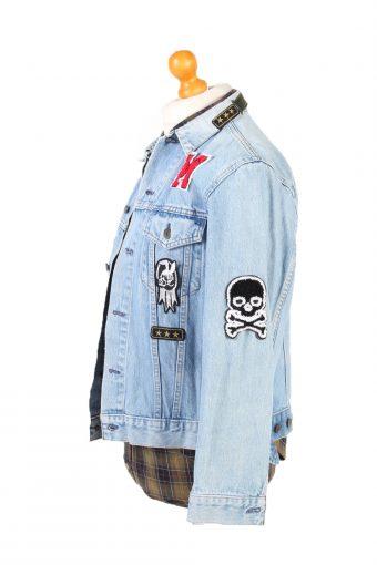 Denim Jacket Levi's Vintage Good Luck Printed L Blue -DJ1484-101841
