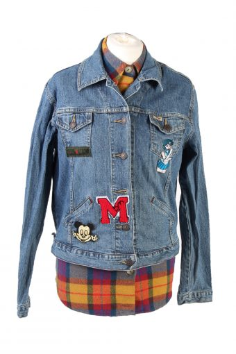 Levi's Denim Jacket Vancouver Fire Printed Blue M