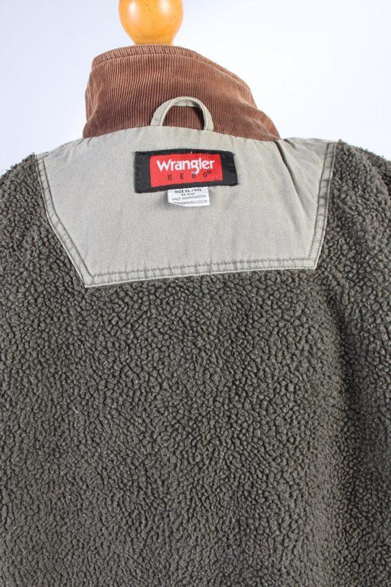 Vintage Wrangler Gilet Sherpa XL Light Green -DJ1500-103565