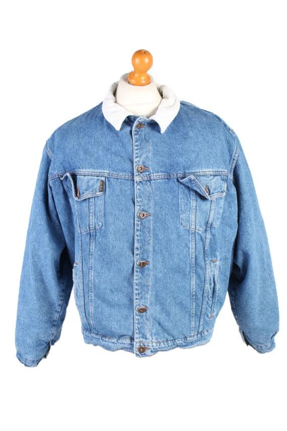 Vintage Westerns Denim Jacket Sherpa L Blue -DJ1503-0