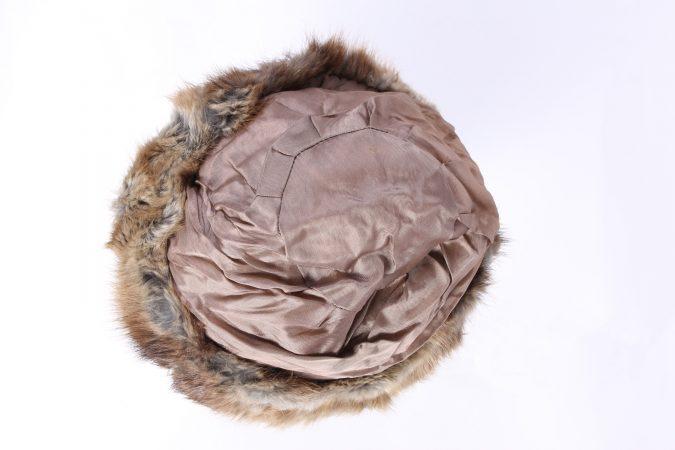 Vintage Fur Canadian Style Genuine Hat Grey HAT229-102070