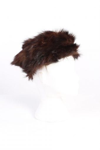 Vintage Fur Europen Style Genuine Hat