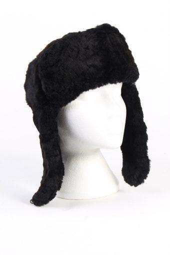 Vintage Fur Country Style Genuine Hat