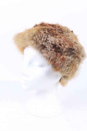 Vintage Fur Hat Canadian Style Genuine