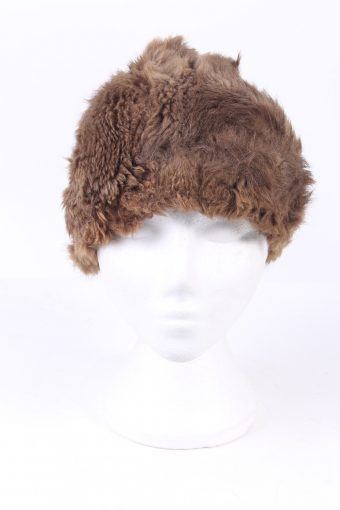Vintage Fur Hat European Style Cossack Brown HAT359-102921
