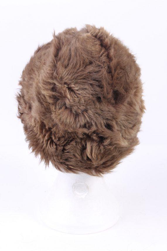 Vintage Fur Hat European Style Cossack Brown HAT359-102922