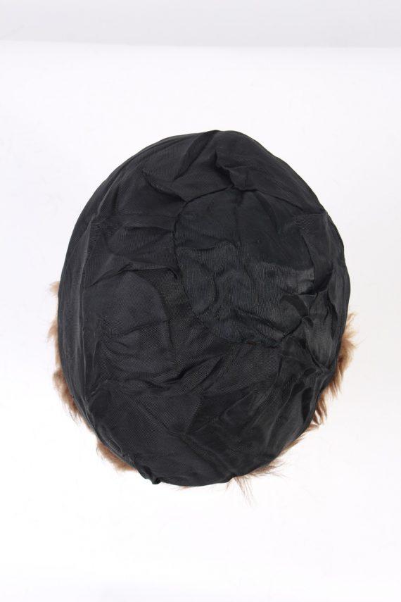 Vintage Fur Hat European Style Cossack Brown HAT359-102923