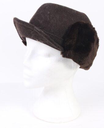 Vintage Fur Hat European Style Cossack Brown HAT365-0