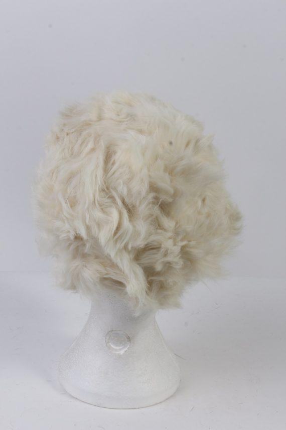 Vintage Fur Hat European Style Cossack White HAT385-103033