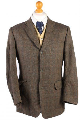 Burberry Blazer Jacket Breuninger Windowpane Brown M