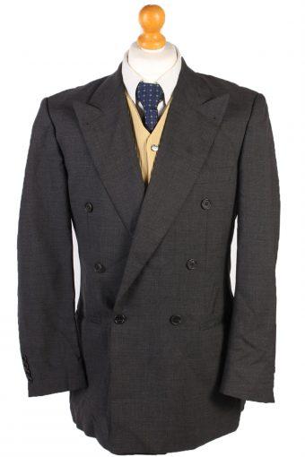 Burberry Blazer Jacket Wool Grey M