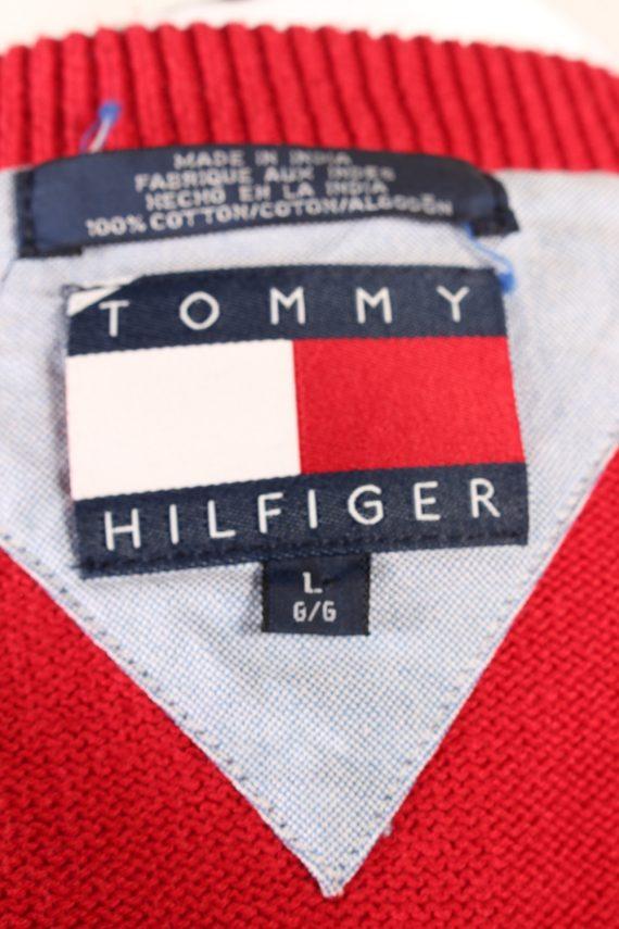 Vintage Jumper Tommy Hilfiger Sweater L Red -IL1622-103326