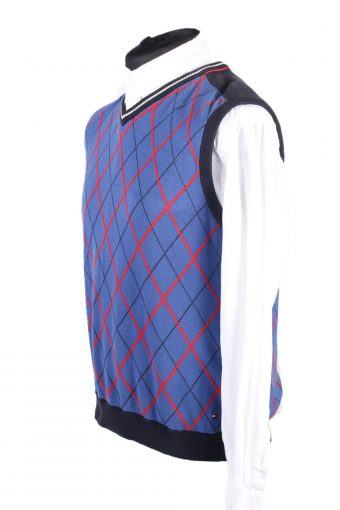 Vintage Jumper Tommy Hilfiger Sweater M Blue -IL1623-103328