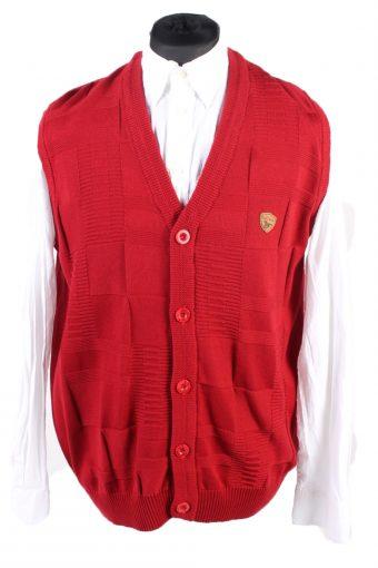 90s Jumper Paul Smith Sleeveless Red XXL