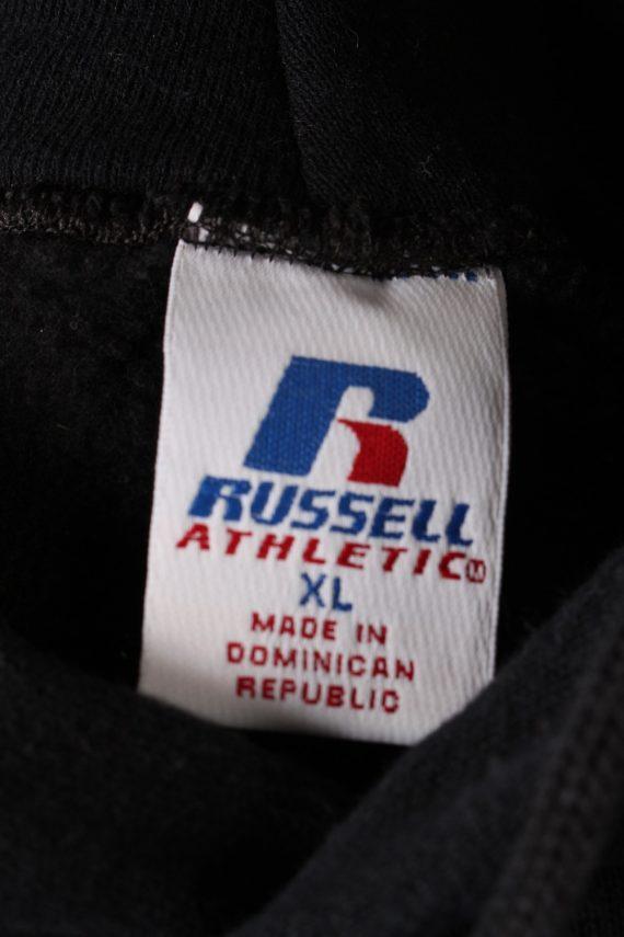 Vintage Tracksuits Top Russel Atletich Hoodies XL Black -SW2121-102036