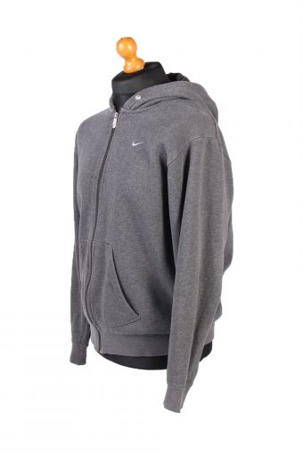 Vintage Nike Tracksuits Top Hoodies M Grey -SW2122-102038