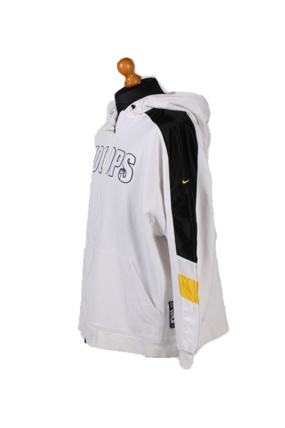 Vintage Nike Tracksuits Top Hoodies XL White -SW2124-101998
