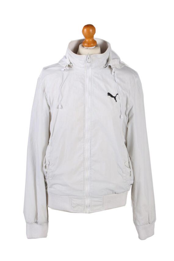 Vintage Puma Tracksuits Top Hoodies XL White -SW2131-0