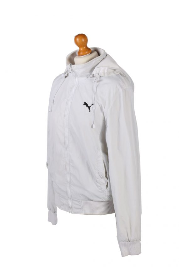 Vintage Puma Tracksuits Top Hoodies XL White -SW2131-102026