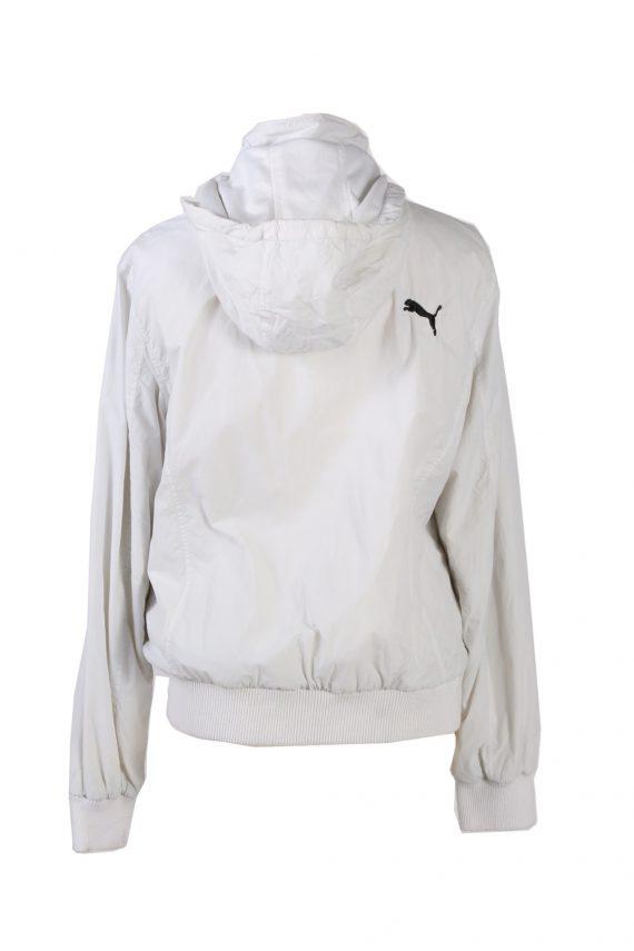 Vintage Puma Tracksuits Top Hoodies XL White -SW2131-102027