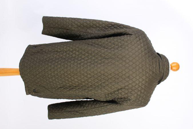 Vintage MEN'S Barbour Bardon Quilted Jacket L Green -C1358-104066