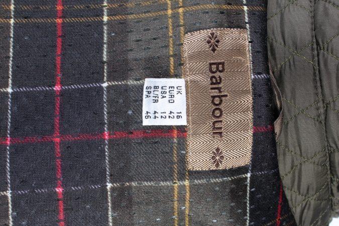 Vintage MEN'S Barbour Bardon Quilted Jacket L Green -C1358-104067
