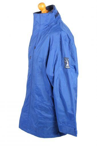 Vintage Helly Hansen Waterproof Rain Coat S Blue -C1367-104101